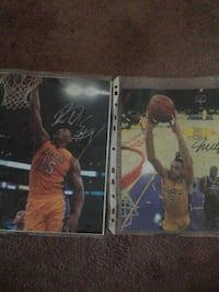 Hand Signed Laker ls Los Angeles, 90007