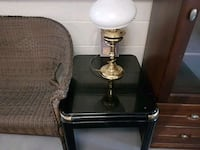Brass table lamp Woodstock