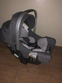 Stokke PIPA by Nuna Infant Car Seat with Base in Black Melange Mentone, 92359