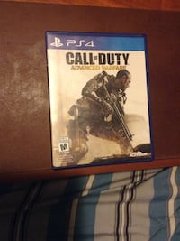 Call of duty advanced warfare ps4 game + disk