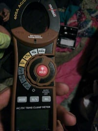 black and brown remote control