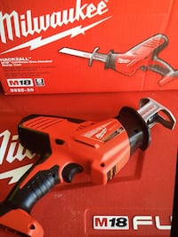 Milwaukee M18 HACK ZALL- tool only - new brand  Los Angeles, 91343