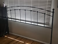 King size metal bed frame and headboard Long Beach, 90808