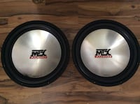 Black and gray mtx audio subwoofer Orlando, 32828