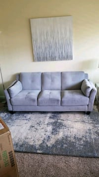 New grey couch/sofa. Must sell today!  Costa Mesa, 92627
