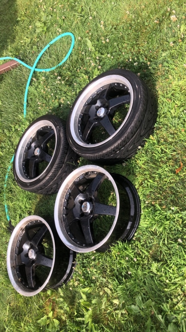 Rims for sale or trade for atv or a dirt bike  or other rims  fd12ac08-57ab-4581-b4db-1811da025dd4