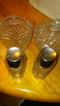 Glass salt and pepper set Brandywine, 20613