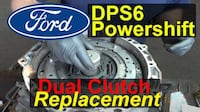 2011-17 focus or fiesta transmission/clutch repair