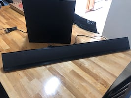 Sony soundbar, wireless sub