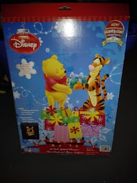 19 Inch Lighted Glimmer Glow Pooh & Tigger Sculpture Attleboro