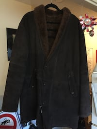 Brown Leather Winter XXL Jacket St Catharines, L2T 3K2