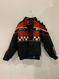 Snow gear Racing jacket $224 Roebuck, 29376