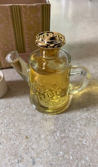 """Collectible: Vintage Avon Bottle w/Cologne: """"Field Flowers"""" New York, 11237"""