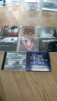 Goo Goo Dolls cd collection Woodstock
