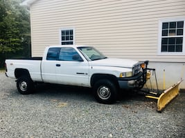 2001 Dodge Ram Pickup with plow will finance or trade- READ AD!!!