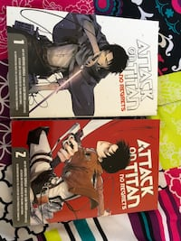 Attack On Titan Manga Special Edition Books Edmonton, T6X 1K7