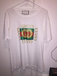 Gucci tee shirt. Europe and Asia release. Size M. Bought from mr.porter.com Greater Vancouver