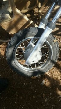 Front tire $30 with frame 100$