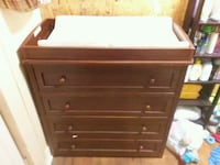 Changing table.  491 mi