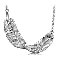 Sterling silver Feather necklace  Portland, 97233