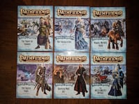 Pathfinder Adventure Path: Reign of Winter - COMPLETE SET - Vol 67-72 Herndon