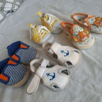 toddler's three pairs of shoes Brampton, L7A 1M5