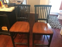 two brown wooden windsor chairs Springfield, 22153