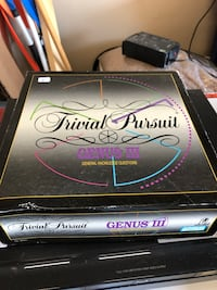Trivial Pursuit board game complete.