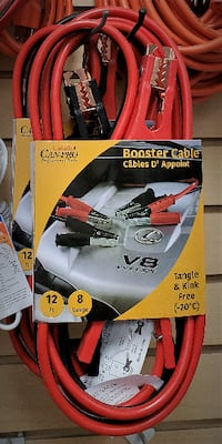 Brand New Jumper / Booster Cables- 12 ft. Newmarket