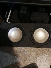"10"" sub box  Cambridge, N1S 2S5"