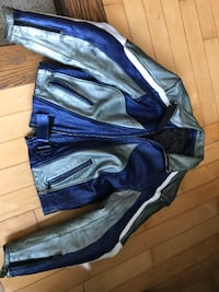 Motorcycle leather jacket Toronto