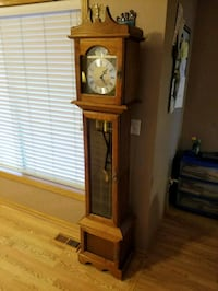 brown wooden grandfather's clock Ankeny, 50021