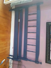 blue double bed. Burlington