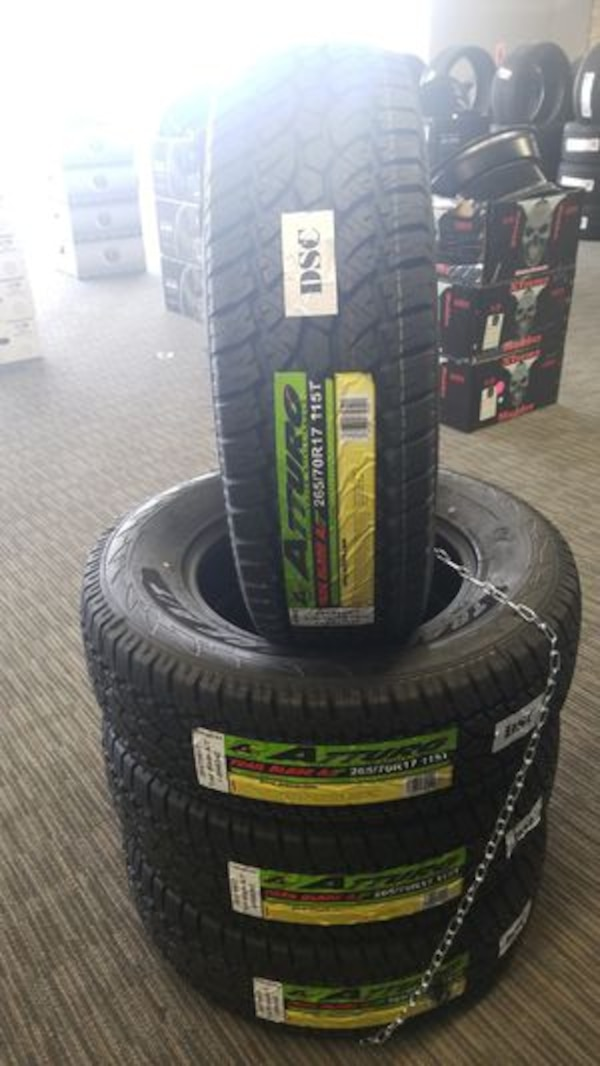 Used Tires Portland >> Lt265 70 17 Atturo Trail Blade At Tire In Stock