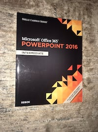 Microsoft Office 365 PowerPoint and Excel 2016 - intermediate