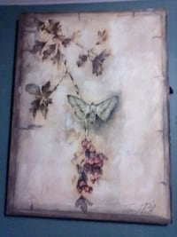 A Moth Picture Painting.   By TRACY PORTER Tulsa, 74115