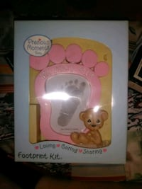 Precious Moments Baby FootPrint Kit Washington