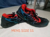 pair of black-and-red Nike running shoes Morganton, 28655