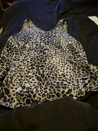 black and brown leopard print long sleeve dress Greater London, TW4 7PL