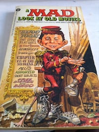 Rare Collectible Early MAD magazine : Mad look at Old Movies (book)