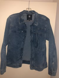G Star denim jean jacket.