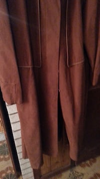 Brown Trench Coat Size 16