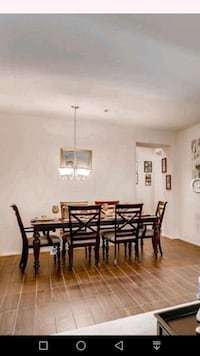 Dining table with 6 chairs Henderson, 89011