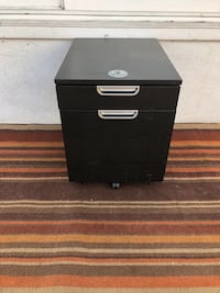 Dark Brown Filing Cabinet Los Angeles, 91423