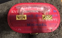 Super Rare Kate Walsh Boyfriend Red Train Case Gift Set Toronto, M6P 2E4