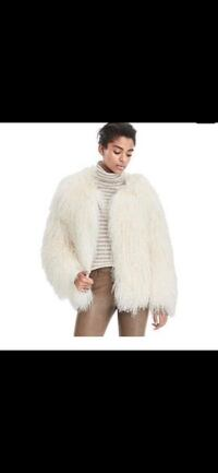 Authentic real sheepskin coat! New with tag!  New York, 10019