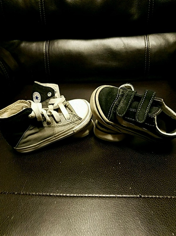 bb6d4c20b6c7 Used Toddler Vans   Converse size 6 for sale in Manteca - letgo