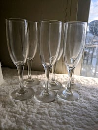 Champagne Glasses (Set of 6)  Mississauga, L5H 3R2