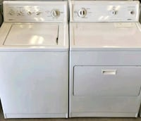 white washer and dryer set Dallas, 75217