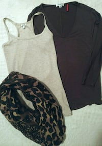 Shirt, Tank & Scarf Set Red Deer, T4P 0B6